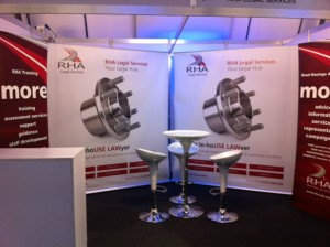 Backhouse Jones stand at NEC Oct 2012