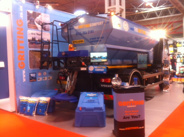 The Gritting Company stand